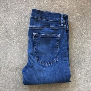 Gap Medium Dark Wash Skinny Jeans, Size 28S